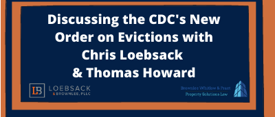 SCAA: Discussing the CDC's New Order on Evictions