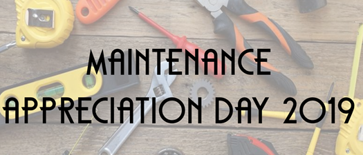 Maintenance Appreciation