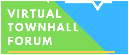 """""""Townhall Forum"""" -- Zoom"""