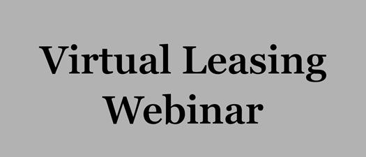 Virtual Leasing Webinar