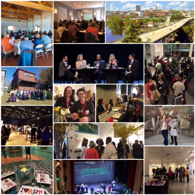 VAM Conference 2019 collage