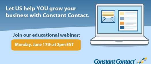 Webinar: Learn More About Constant Contact