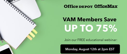 Webinar: Saving with New OfficeMax/Office Depot Member Benefit