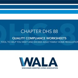 Quality Compliance Worksheets - AFH (DHS 88)