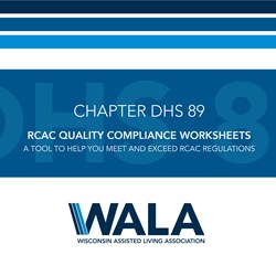 Quality Compliance Worksheets - RCAC (DHS 89)