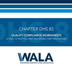 Quality Compliance Worksheets Download - CBRF (DHS 83)