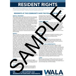 Resident Rights Poster