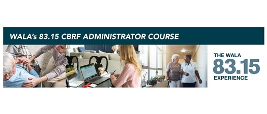 83.15 CBRF Administrator Course - October 2021