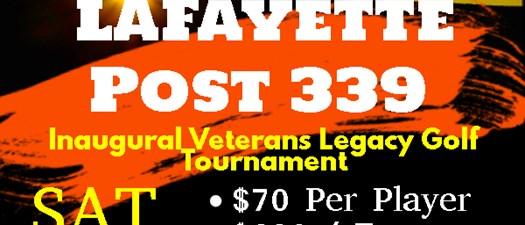 Veterans Legacy Golf Tournament!