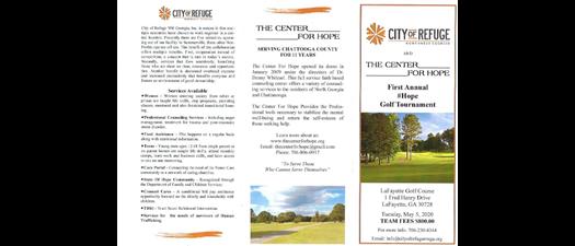 City Of Refuge Golf Tournament
