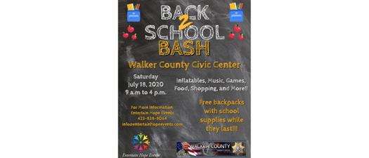 Back 2 School Bash!!