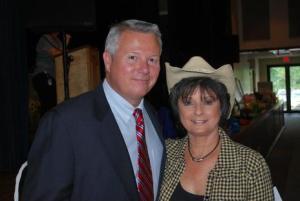 Don Stultz, Jr. with Glenda Jones