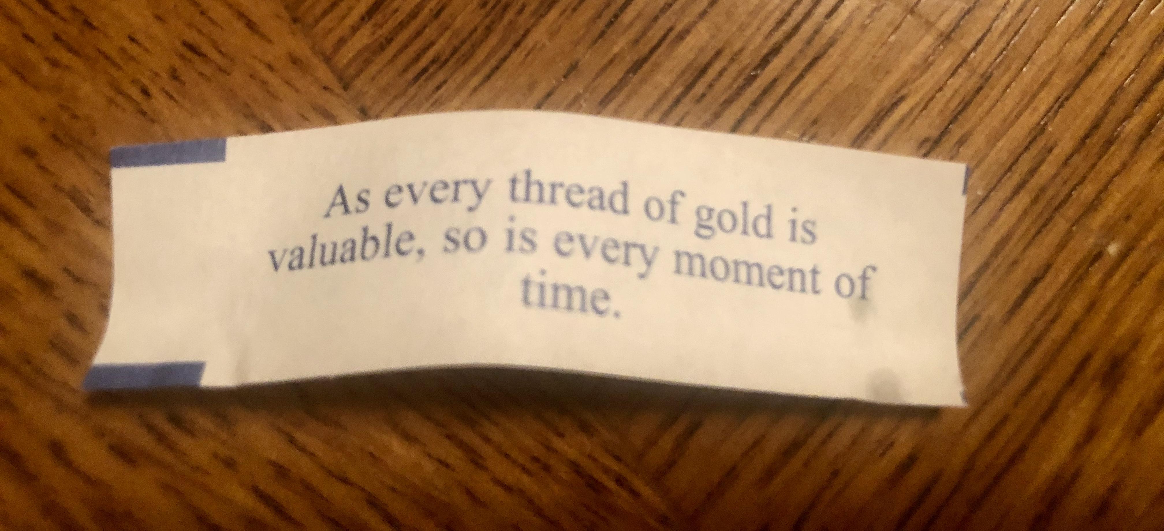 Allison's fortune