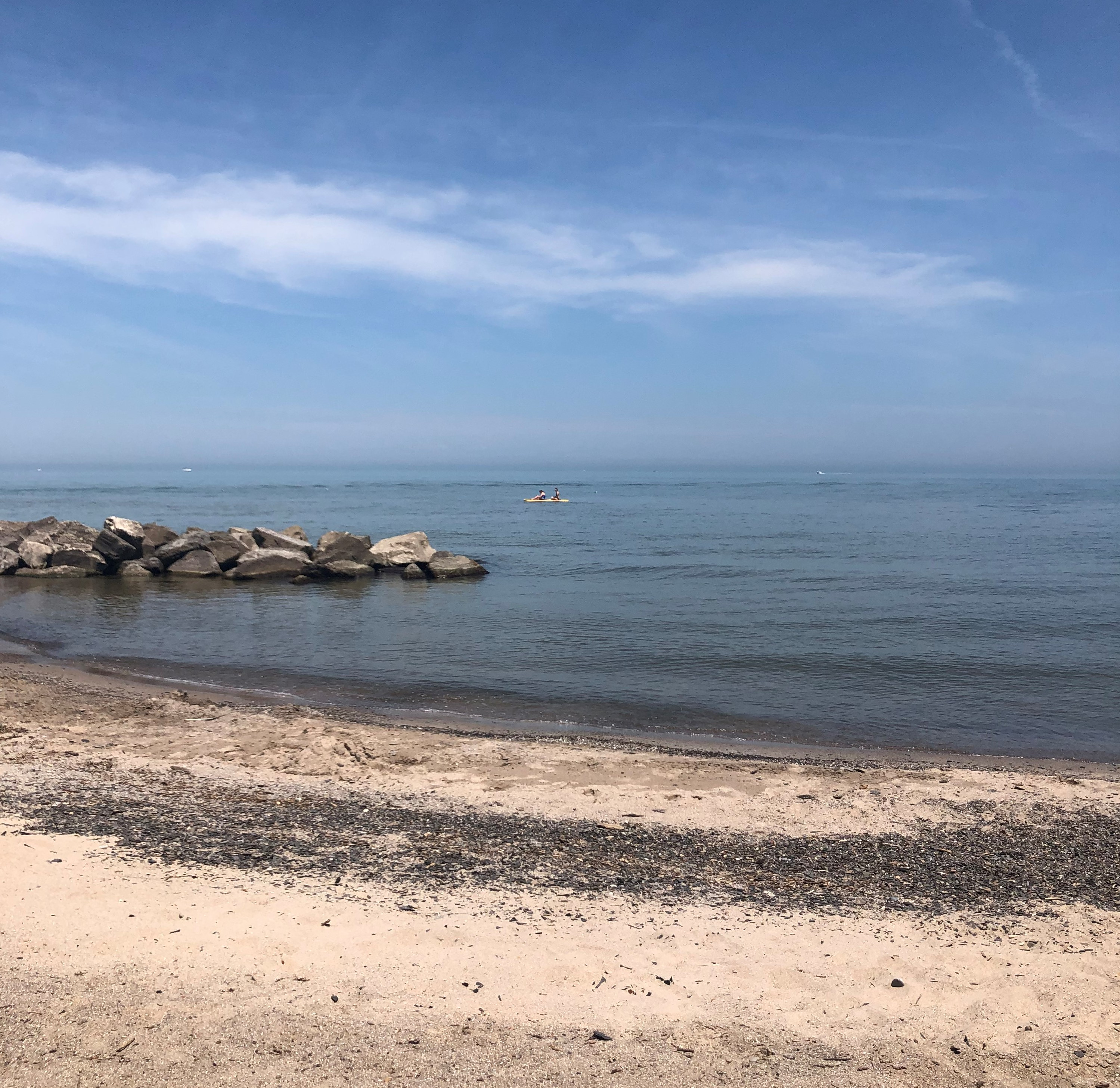 View of Lake Erie in Vermilion