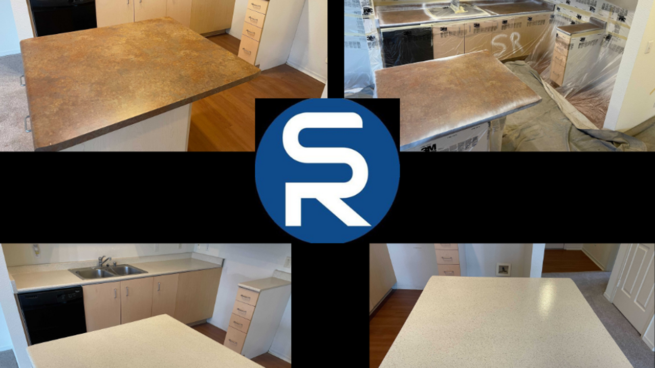 Countertop Resurfacing Before and Afters