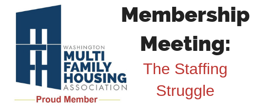Membership Meeting - The Staffing Struggle